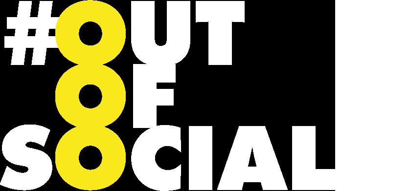 #outofsocial Logo